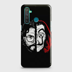 REALME 5 PRO MONEY HEIST PROFESSOR Case