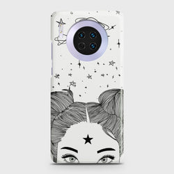 Huawei Mate 30 Space Girl Case