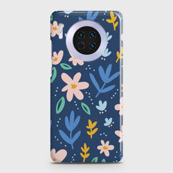 Huawei Mate 30 Colorful Flowers Case