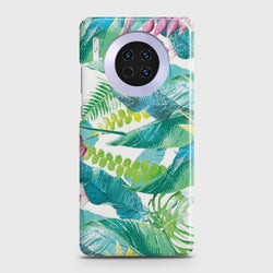 Huawei Mate 30 Retro Palm Leaves Case
