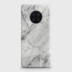Huawei Mate 30 Pro Realistic White Marble Case