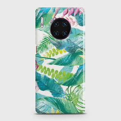 Huawei Mate 30 Pro Retro Palm Leaves Case