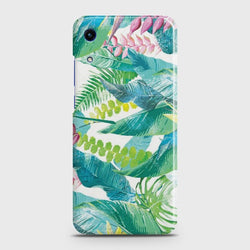 HUAWEI HONOR 8A Retro Palm Leaves Case