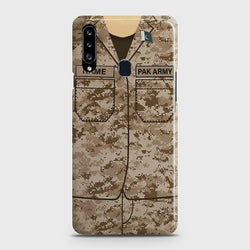 SAMSUNG GALAXY A20S Army Costume Case