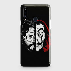 SAMSUNG GALAXY A20S MONEY HEIST PROFESSOR Case