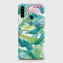 SAMSUNG GALAXY A20S Retro Palm Leaves Case