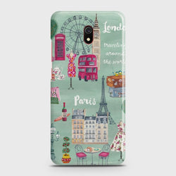 XIAOMI REDMI 8A London, Paris, New york Case
