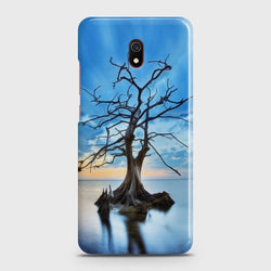 XIAOMI REDMI 8A Luxury Blue Beautiful Light Moon Case