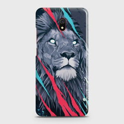 XIAOMI REDMI 8A Abstract Animated Lion Case