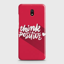 XIAOMI REDMI 8A Think Positive Case
