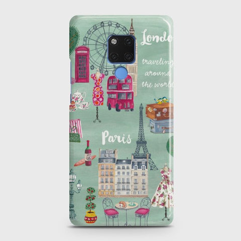 HUAWEI MATE 20 London, Paris, New york Case