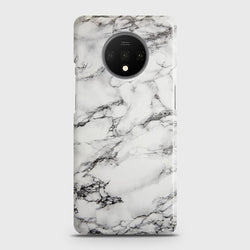 ONEPLUS 7T Trendy White Marble Case