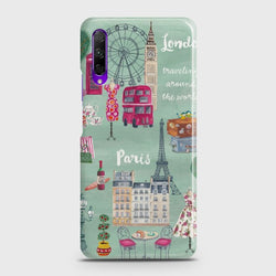 HONOR 9X London, Paris, New york Case