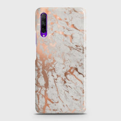 HONOR 9X Chic Rose Gold Chrome Style Print Case