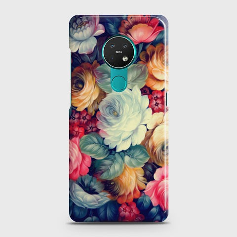 NOKIA 6.2 Vintage Colorful Flowers Case
