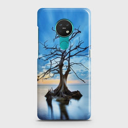 NOKIA 6.2 Luxury Blue Beautiful Light Moon Case