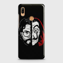 HUAWEI HONOR 8A PRO MONEY HEIST PROFESSOR Case