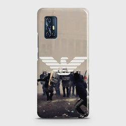 VIVO V17 Smoke Bomb Street Case