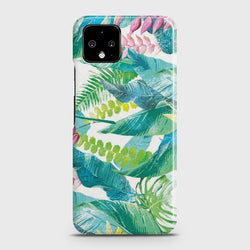 Google Pixel 4 XL Retro Palm Leaves Case