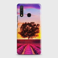 VIVO Y19 Violet Lavender Fields Case