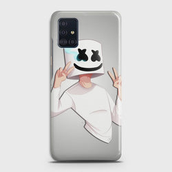 SAMSUNG GALAXY A51 Marshmello Face Case