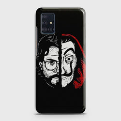 SAMSUNG GALAXY A51 MONEY HEIST PROFESSOR Case