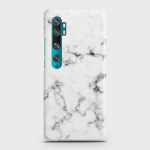 XIAOMI MI NOTE 10 PRO White Liquid Marble Case