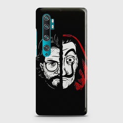 XIAOMI MI NOTE 10 PRO MONEY HEIST PROFESSOR Case