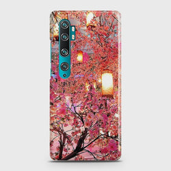 XIAOMI MI NOTE 10 Pink blossoms Lanterns Case