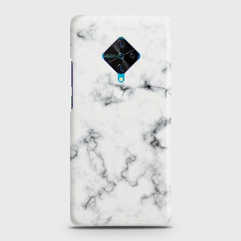 VIVO S1 Pro White Liquid Marble Case