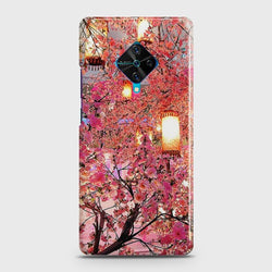 VIVO S1 Pro Pink blossoms Lanterns Case