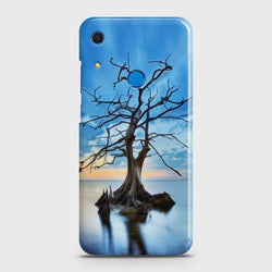 Huawei Y6s (2019) Luxury Blue Beautiful Light Moon Case