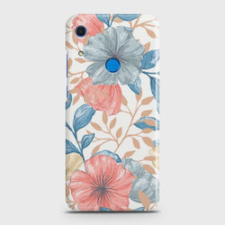 Huawei Y6s (2019) Seamless Flower Case