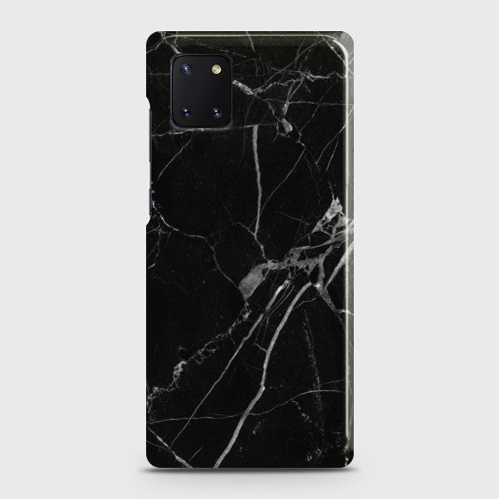 Galaxy Note 10 Lite Black Classic Marble Case