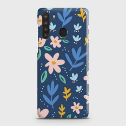 SAMSUNG GALAXY A21 Colorful Flowers Case