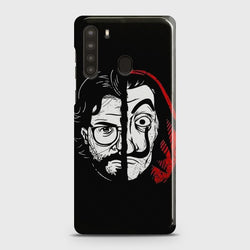 SAMSUNG GALAXY A21 MONEY HEIST PROFESSOR Case