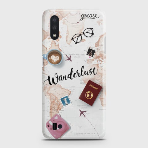 Samsung Galaxy A01 World Journey Case