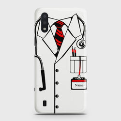 Samsung Galaxy A01 Doctor Costume Case