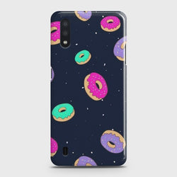 Samsung Galaxy A01 Colorful Donuts Case
