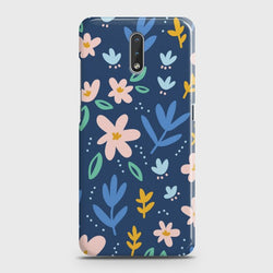 Nokia 2.3 Colorful Flowers Case