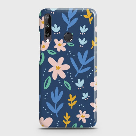 Huawei Y7p Colorful Flowers Case