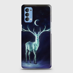 Oppo Reno 4 Deer Hope Case