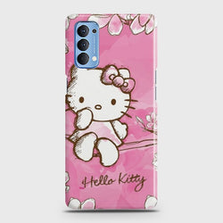 Oppo Reno 4 Hello Kitty Cherry Blossom Case