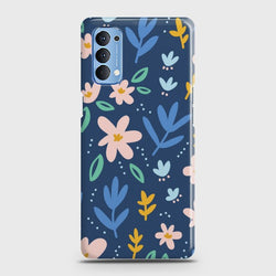 Oppo Reno 4 Colorful Flowers Case