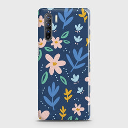 Oppo F15 Colorful Flowers Case