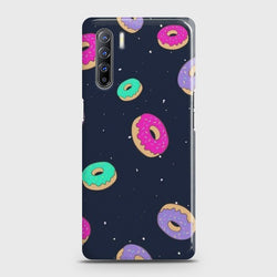 Oppo F15 Colorful Donuts Case