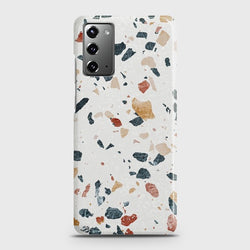Galaxy Note 20 Stone Marble White Case