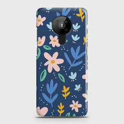 Nokia 5.3 Colorful Flowers Case
