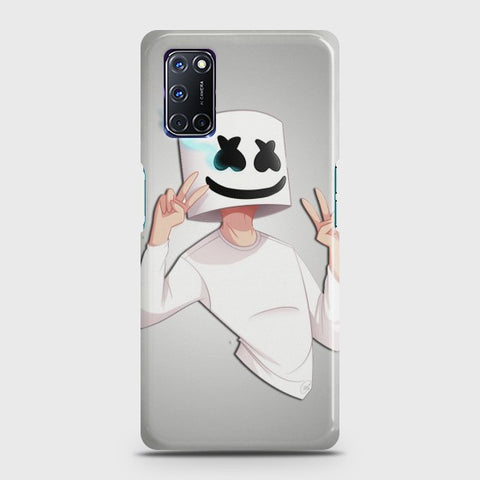OPPO A52 Marshmello Face Case