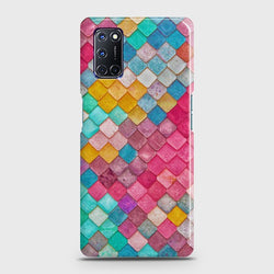 OPPO A92 Colorful Mermaid Scales Case